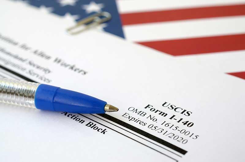 formulario i-140 para conservar fecha de prioridad