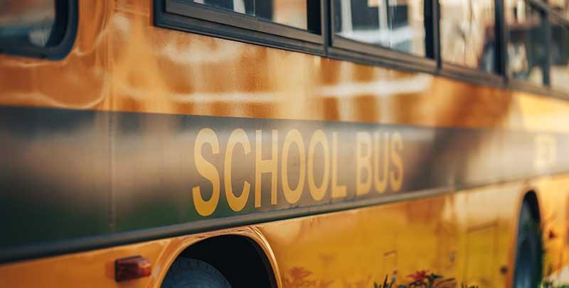 accidente en autobús escolar